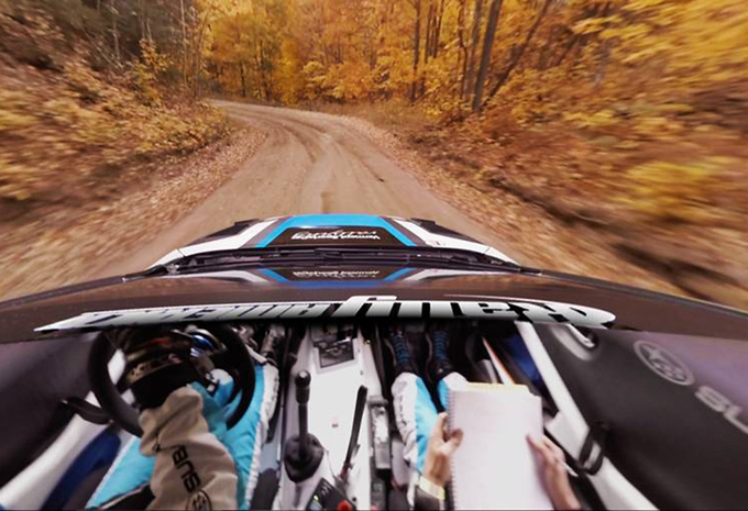 Video: Subaru toont geweldige 360° Peer-Thru-technologie  #1