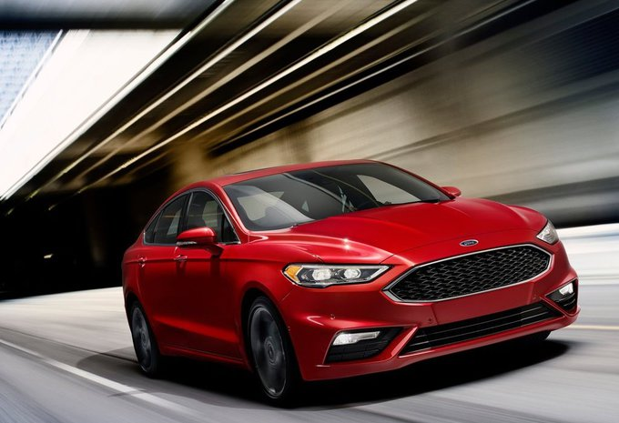 Ford Fusion: de hertekende Amerikaanse Mondeo met een sportieve V6  #1