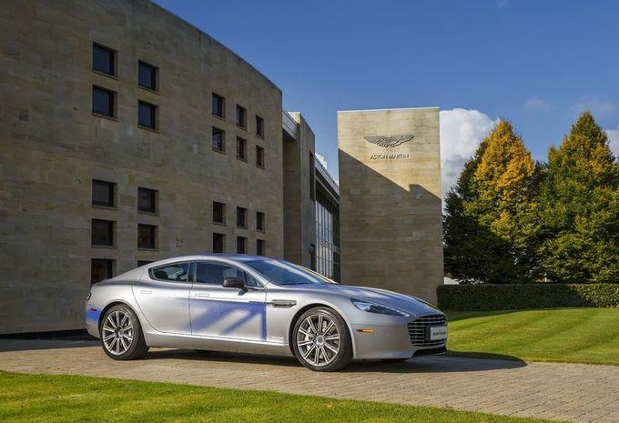 Aston avec les Chinois pour un 1er modèle électrique en 2018  #1