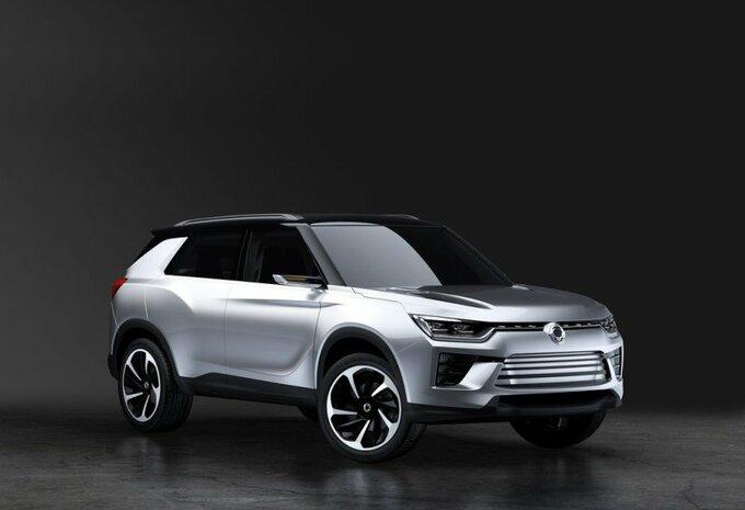 SsangYong SIV-2 Concept : hybride #1