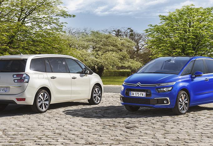 Citroën C4 Picasso en Grand C4 Picasso: facelift en technologische evolutie #1