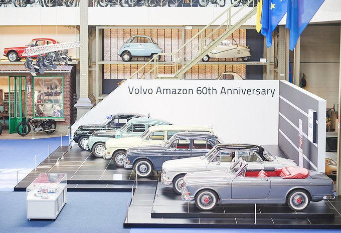 La Volvo Amazon pour ses 60 ans à Autoworld #1