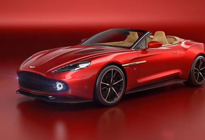 Aston Martin Vanquish Zagato Volante : comme le coupé #1