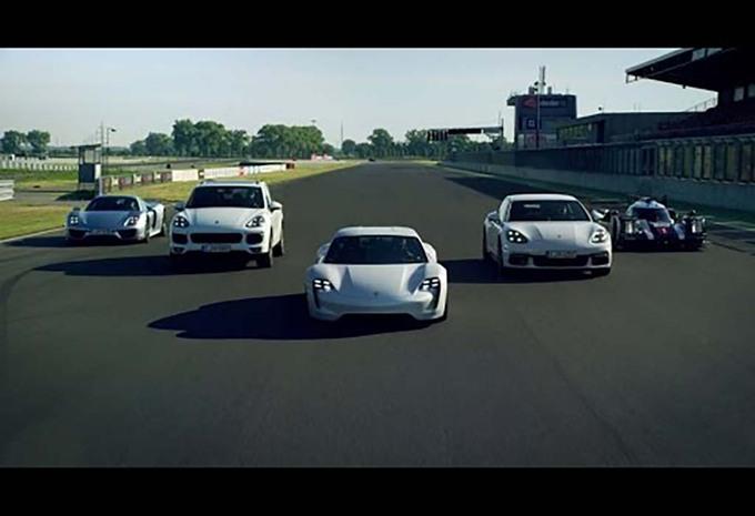 Porsche fait la promo des électriques et hybrides #1
