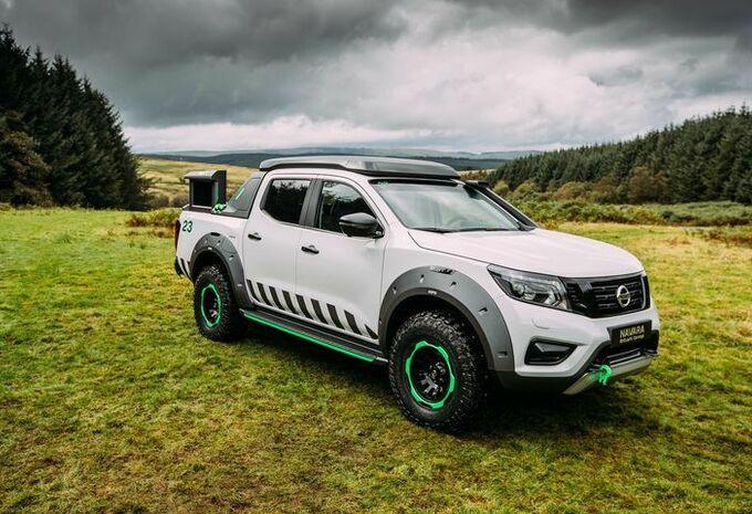 Nissan Navara EnGuard Concept gaat waar anderen blijven staan #1