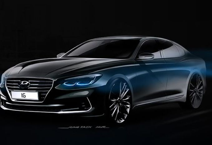 Hyundai Grandeur : nouvelle génération en Corée #1