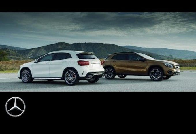 Mercedes GLA: de facelift op video #1