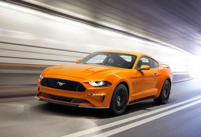Ford Mustang : les détails du facelift #1