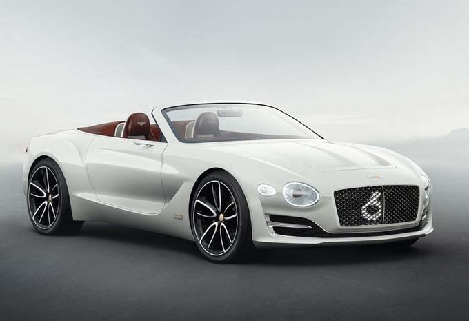 Bentley EXP12 Speed 6e Roadster: onder hoogspanning #1