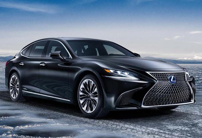 Lexus LS 500h: exclusiviteit op zijn Japans #1