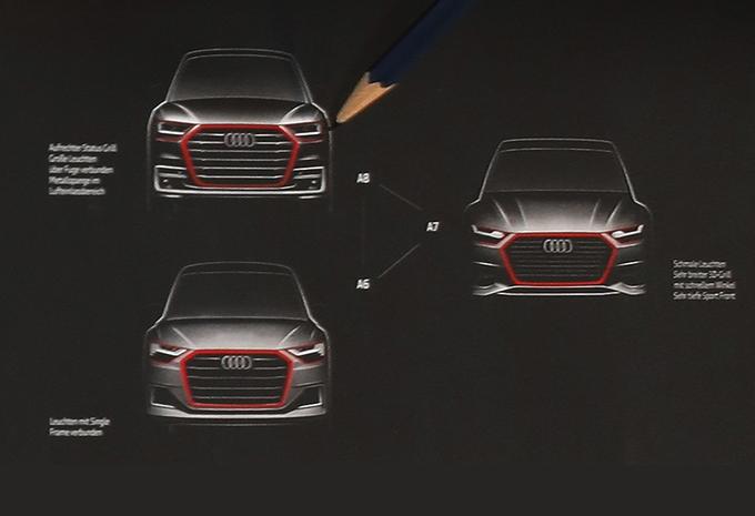 Audi-designer schetst nieuwe A6, A7 én A8 #1
