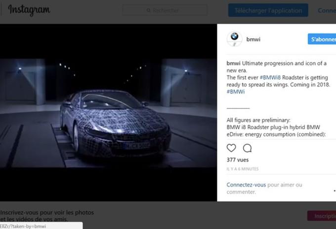 BMW i8 Roadster : teaser #1