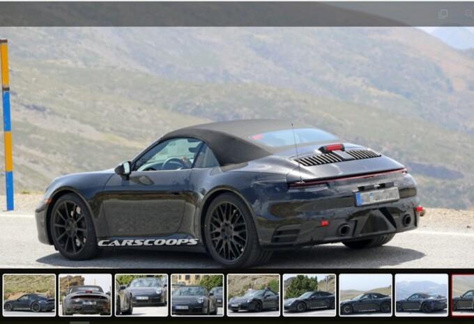 Porsche : la future 911 Cabrio se dévoile #1