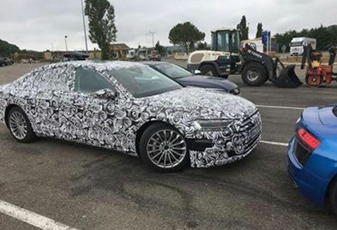 Audi A8 hybride sur L'Occitane #1