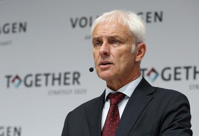 Volkswagen: Matthias Müller moet knokken voor zijn plannen #1