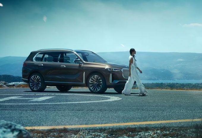 BMW X7 iPerformance : gros SUV plug-in hybride #1