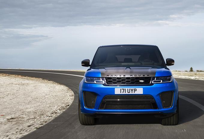 Meer power voor de Range Rover Sport SVR #1