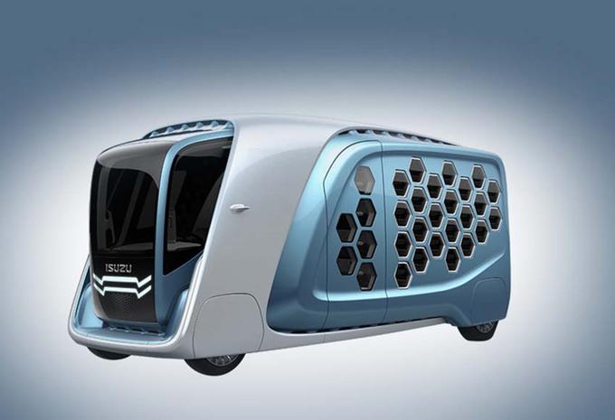 Isuzu FD-Si: bestelwagen van de toekomst #1