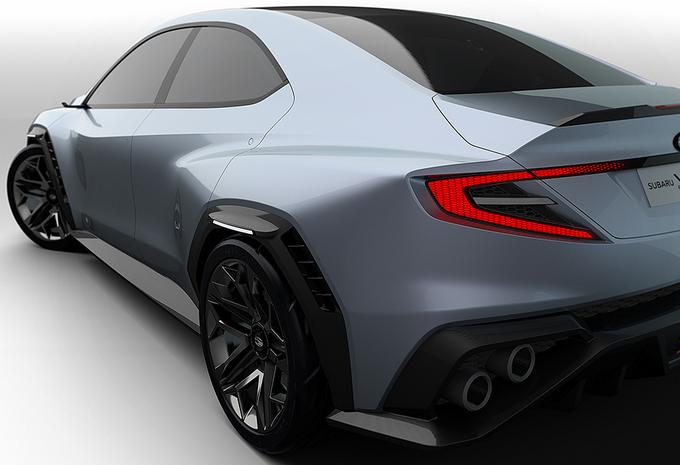 Subaru Viziv Performance kan nieuwe WRX STI worden #1