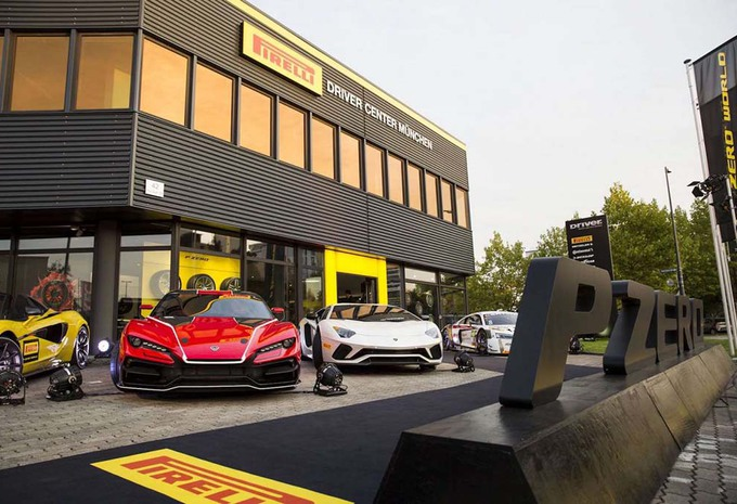 Pirelli : un P Zero World à Munich #1