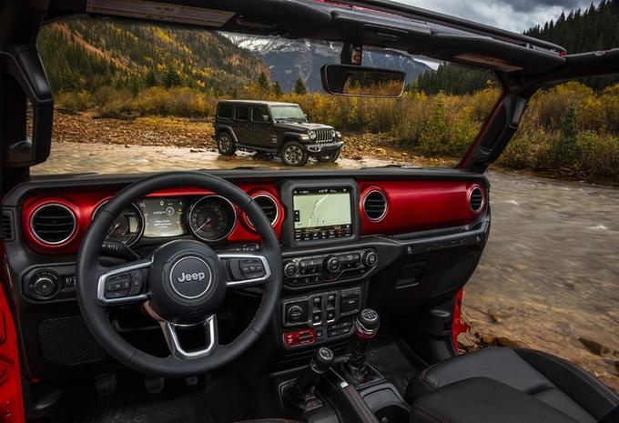 Jeep onthult interieur van de Wrangler - AutoGids
