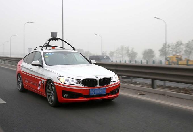 Baidu bouwt vanaf 2019 autonome voertuigen in serie #1