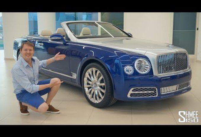 VIDEO – Bentley Grand Convertible: duur plekje in de zon #1
