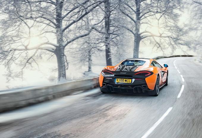 Gratis onderhoud voor de McLaren Sports Series #1