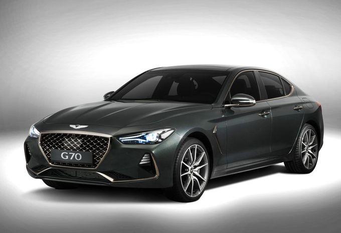 Genesis G70 neemt premium Duitsers in het vizier #1