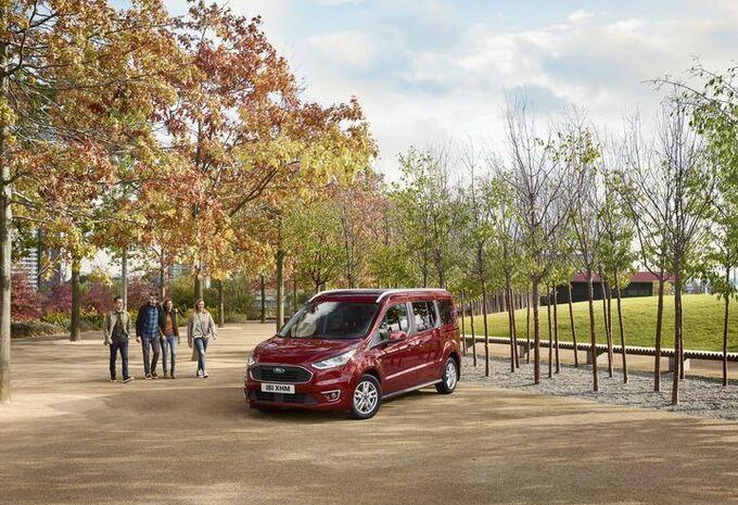 Ford : retouches pour les Tourneo Courier et Connect #1