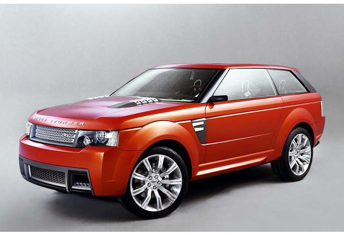 Range Rover denkt na over coupé #1