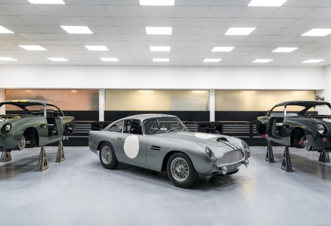 Aston Martin maakt weer auto's in Newport Pagnell #1