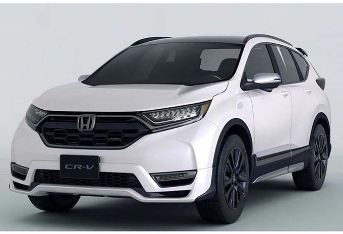 Honda : bientôt un CR-V dynamisé ?  #1