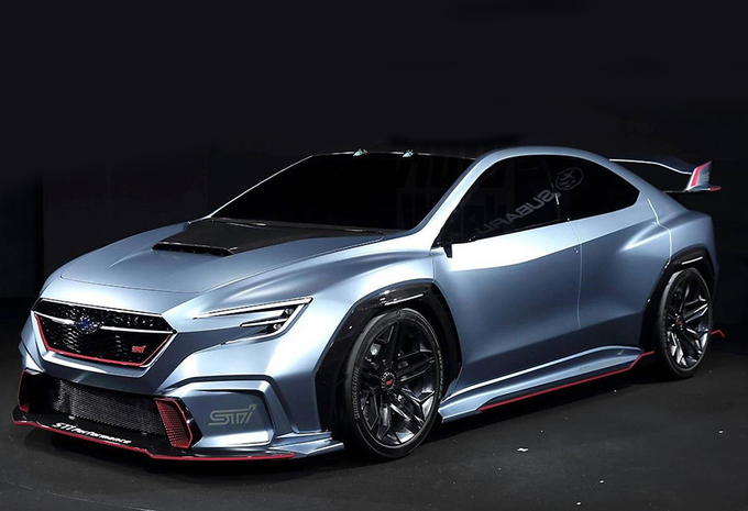 STI-versie voor de Subaru Viziv Performance Concept #1