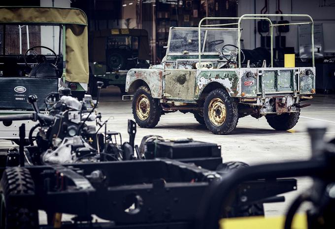 Land Rover is jarig en houdt een feestje #1