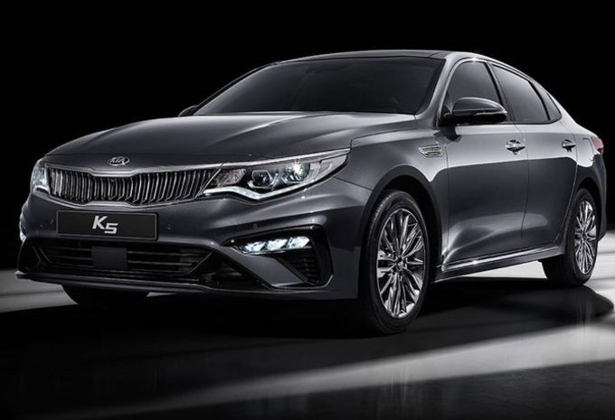 Kia Optima 2018 : voici son futur visage #1
