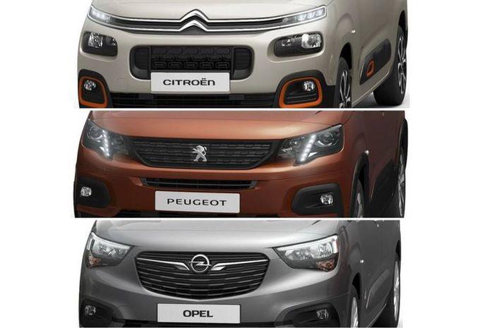 Nieuwe Citroën Berlingo, Peugeot Partner en Opel Combo komen eraan #1