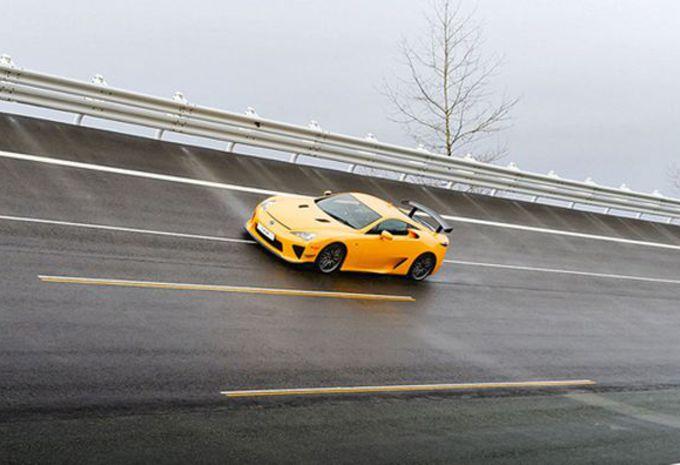 Toyota construit de nouvelles pistes d'essai au Japon #1