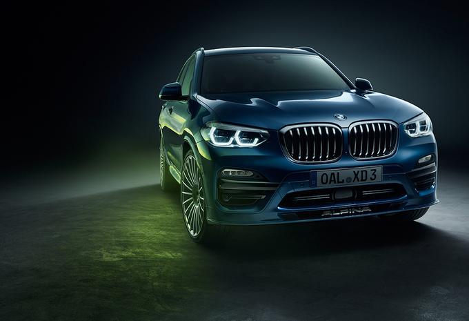 Alpina XD3 is een BMW X3 met vier turbo's #1