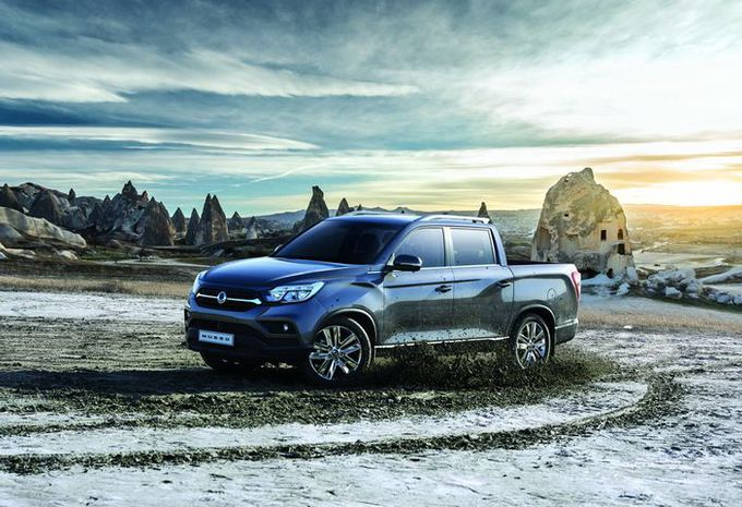 Gims 2018 – SsangYong Musso Sports: Europese versie #1
