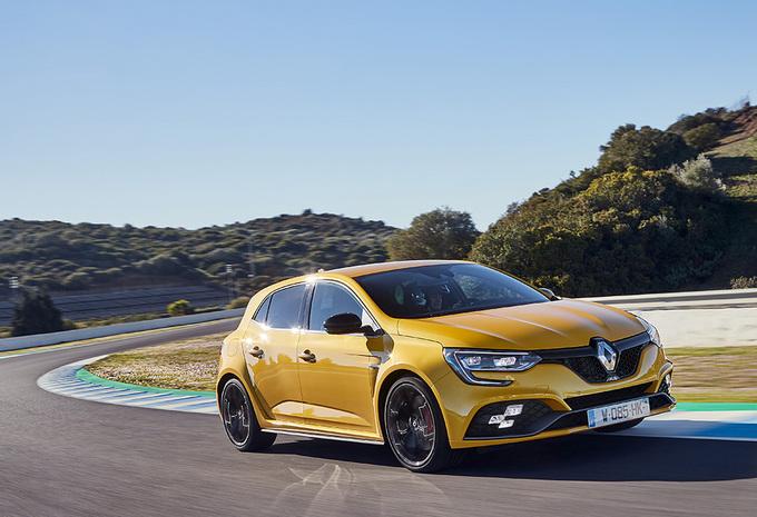 Renault Mégane R.S.: werking van de vierwielsturing #1