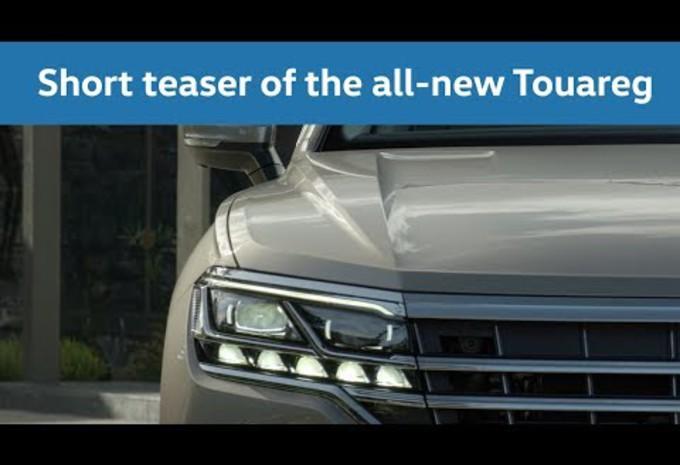 Volkswagen Touareg : les premières images en vidéo #1