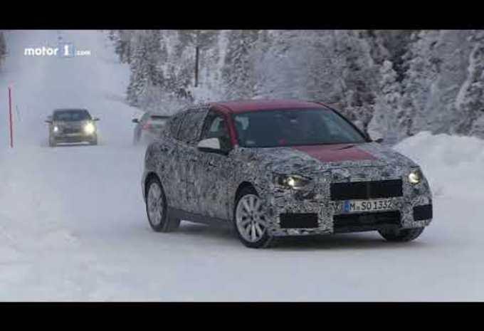 La future BMW Série 1 en drift #1