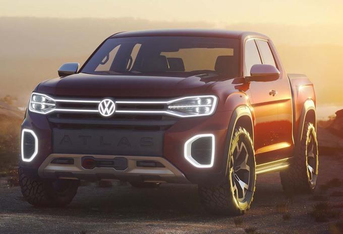 NYIAS 2018 – Volkswagen Atlas Tanoak: Amerikaanse Amarok #1