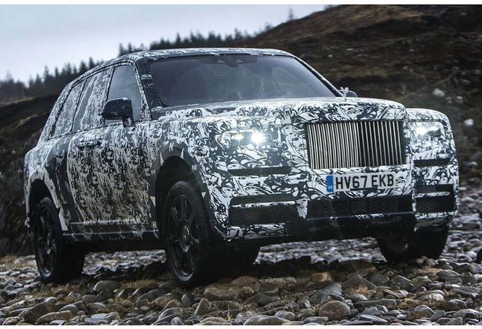 Rolls-Royce : le Cullinan arrive ! #1