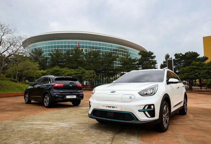 Nieuwe Kia Niro EV belooft een elektrische autonomie van minstens 450 km #1