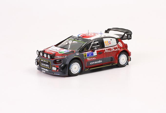 In het klein: de rallyauto's van Sébastien Loeb #1