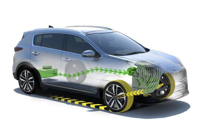 Kia Sportage krijgt mild hybride diesel #1