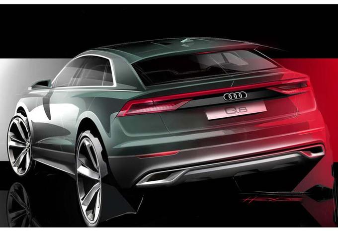 Audi Q8 wordt onthuld met tekeningen en… een internetreeks #1