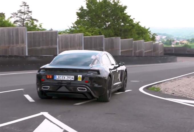 VIDÉO – Porsche Mission E : 600 ch confirmés par Mark Webber #1